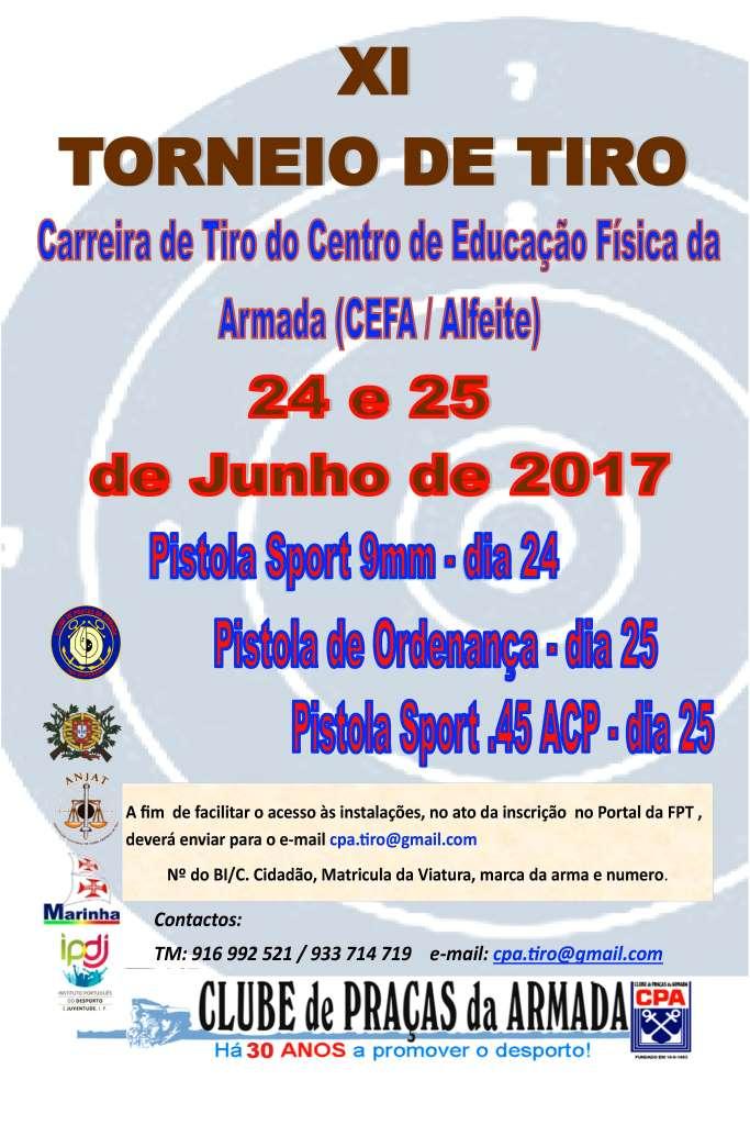 XI Torneio de Tiro do CPA 2017