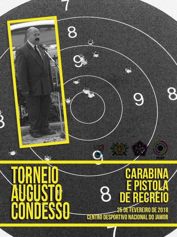 Torneio Augusto Condesso – Carabina e Pistola de Recreio