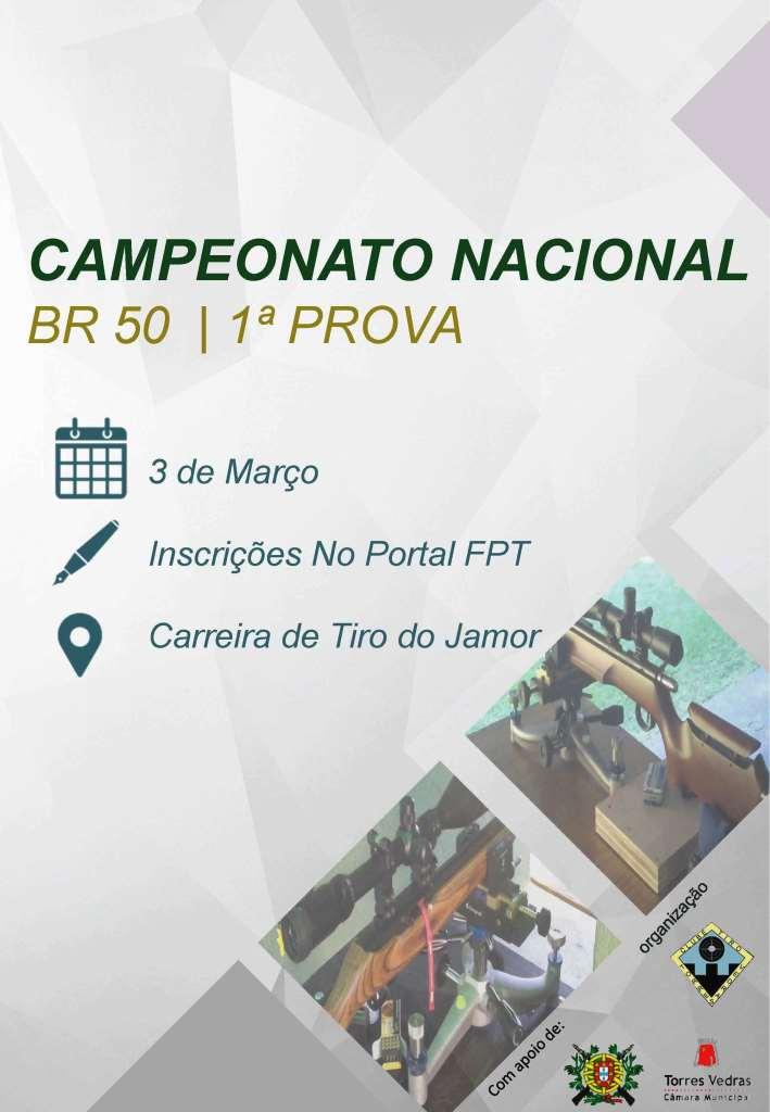 Campeonato Nacional BR50 2018 1ª Prova