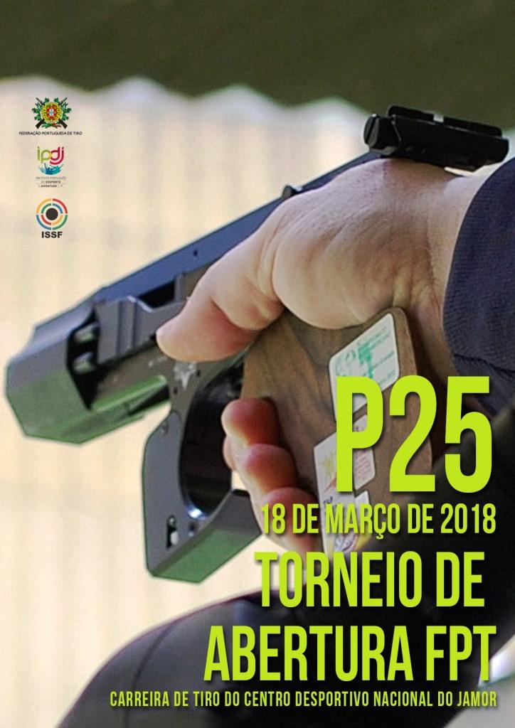 Torneio de Abertura FPT P25 2018