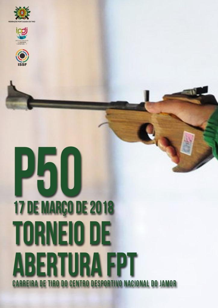 Torneio de Abertura FPT P50 2018