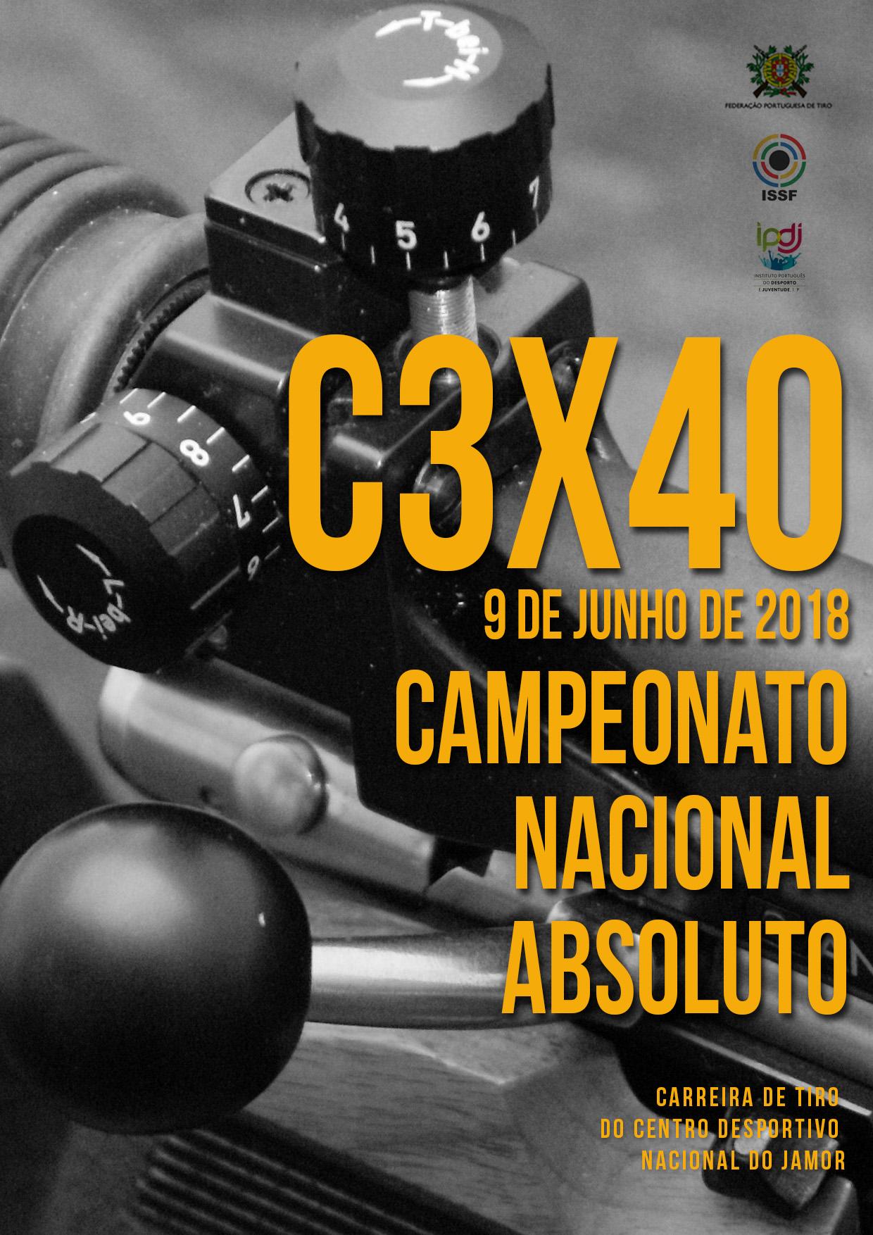 Campeonato Nacional C3x40 2018