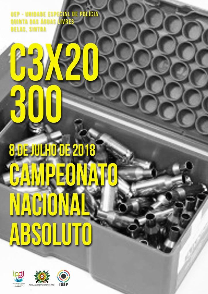 Campeonato Nacional C3x20 300 2018