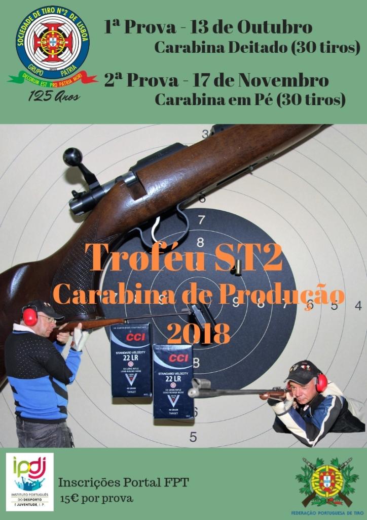 Troféu ST2 Carabina de Produção 2018