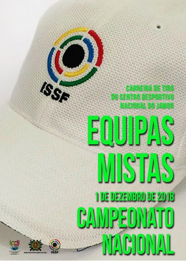Campeonato Nacional Equipas Mistas 2018