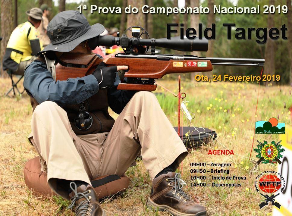 Campeonato Nacional Field Target 2019 – 1ª Prova