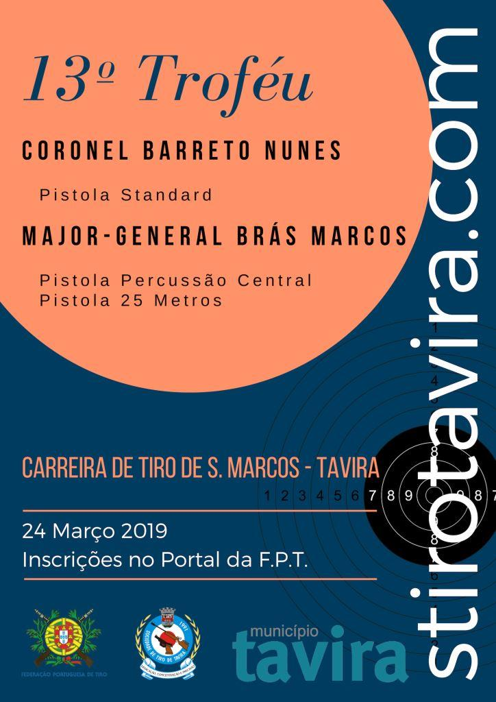 13º Troféu Cor Barreto Nunes / MGen Brás Marcos 2019