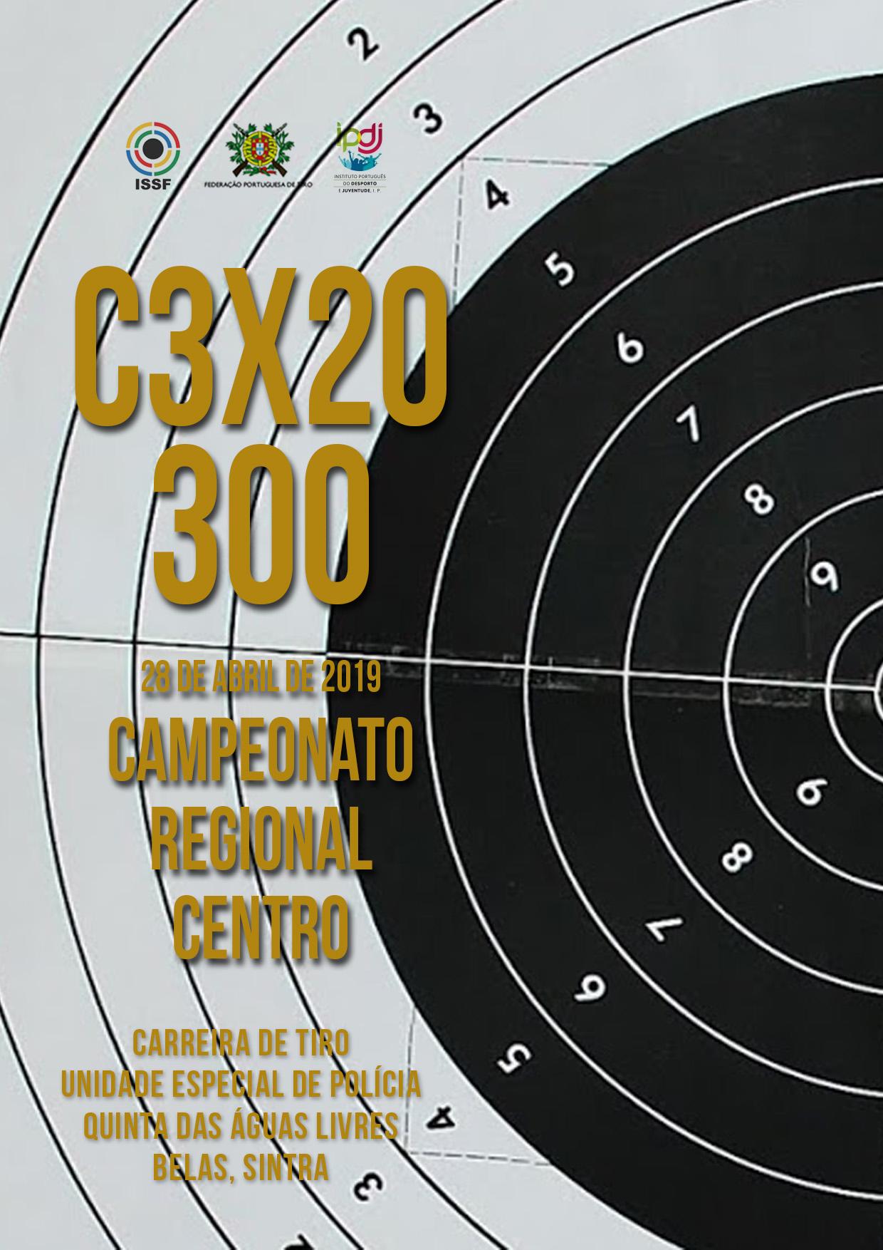 Campeonato Regional Centro C3x20 300 2019