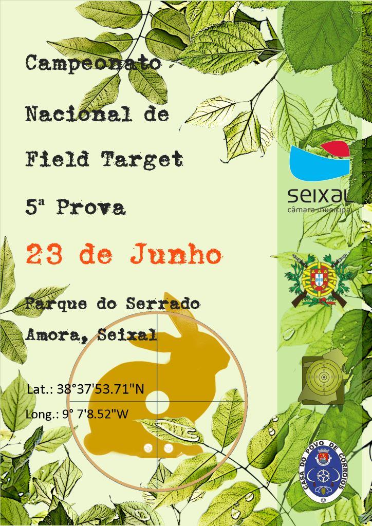 Campeonato Nacional Field Target 5ª Prova 2019