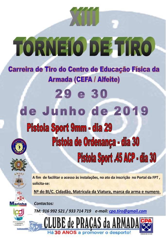 XIII Torneio de Tiro CPA 2019