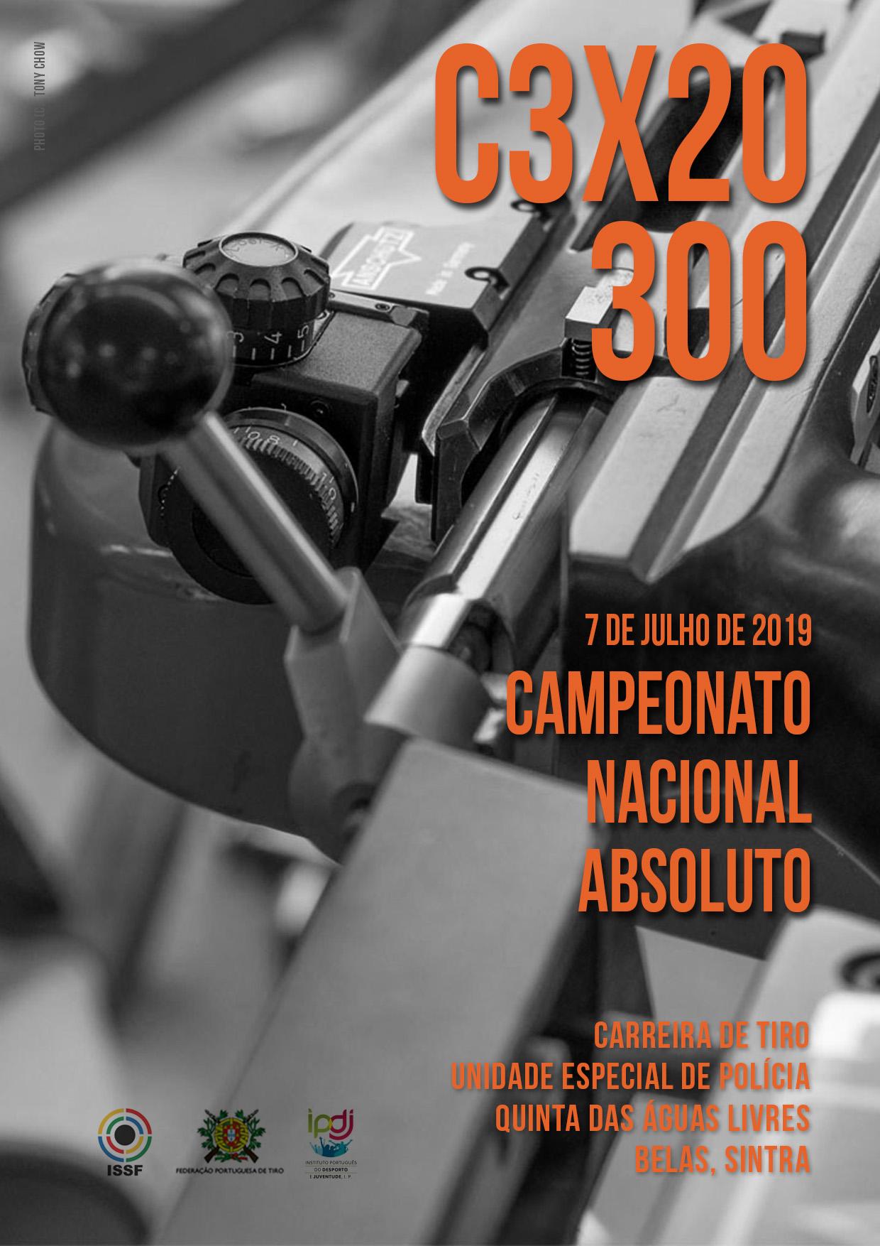 Campeonato Nacional C3x20 300 2019