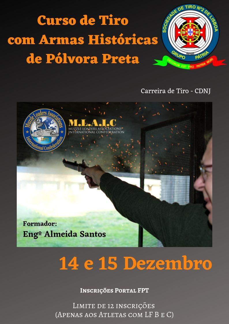 Curso de Tiro com Armas de Pólvora Preta 2019