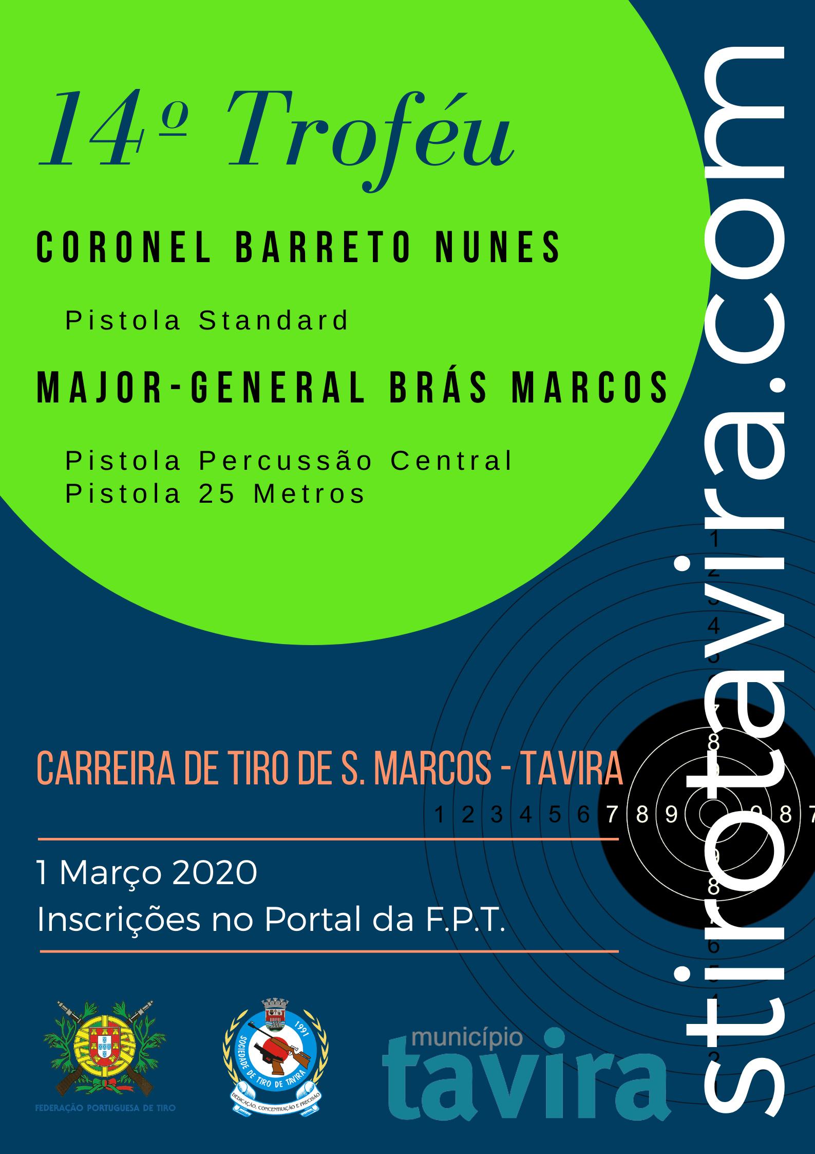 14º Troféu Cor Barreto Nunes / Maj-Gen Brás Marcos