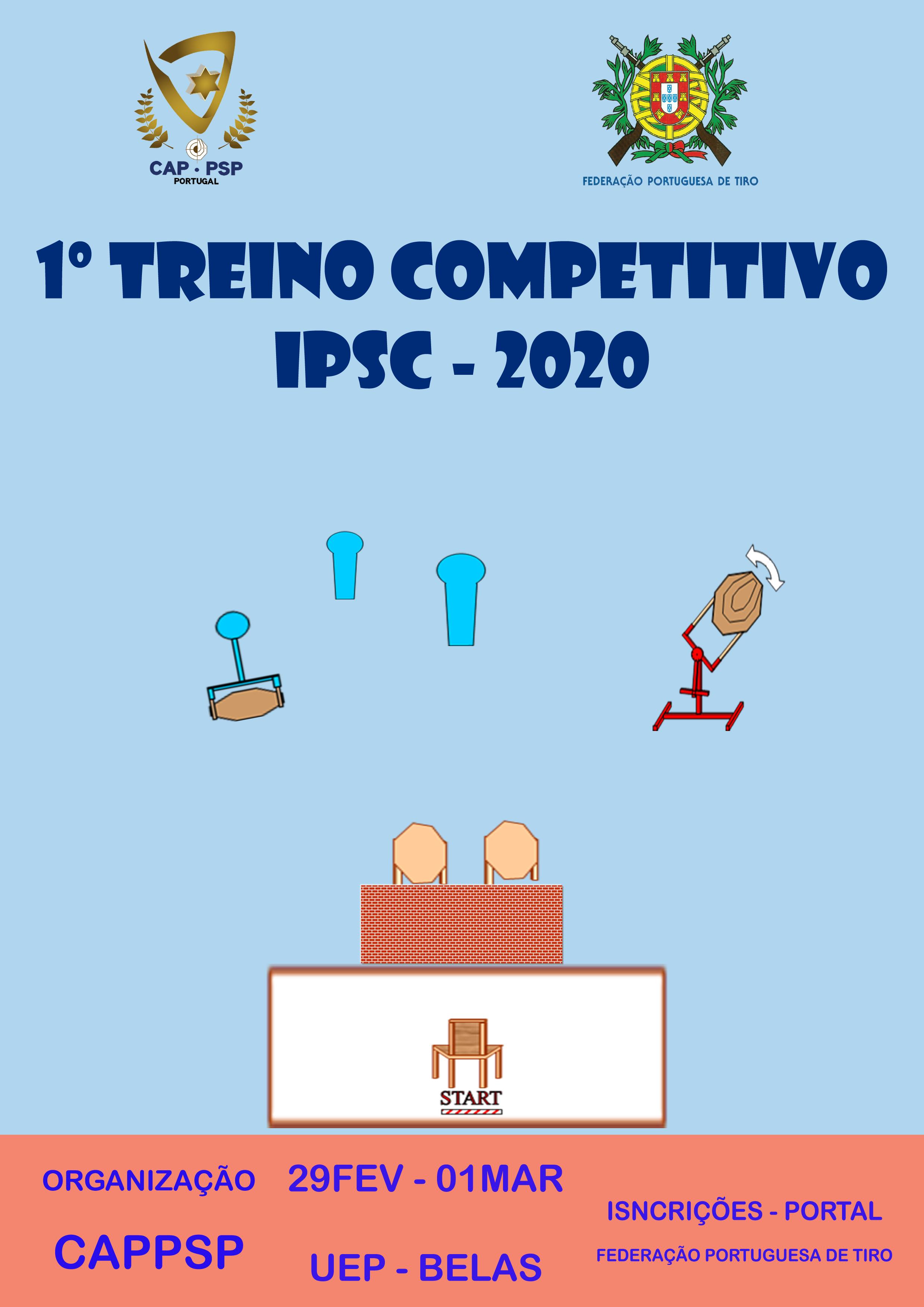 1ª Prova Treino IPSC CAPPSP 2020