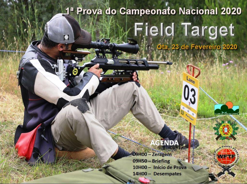 Campeonato Nacional Field Target 2020 1ª Prova