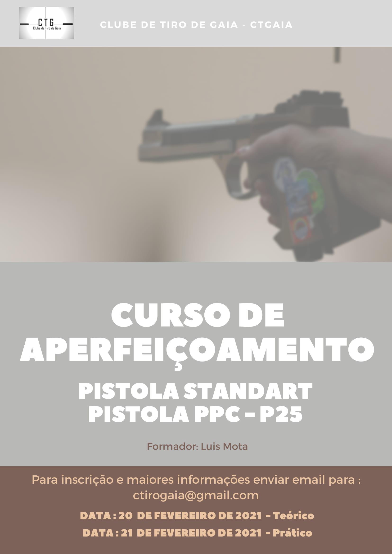 Curso de Aperfeiçoamento PStd – PPC -P25